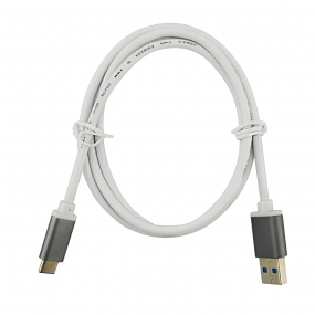 USB 3.1 Type C to USB3.0 Charging & Data Cable for Apple New MacBook, Chromebook Pixel-White