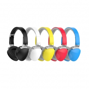 Wireless Bluetooth Headphones - Wired+Wireless Headphones Headset with Mic and Soft Earcups