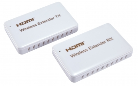 HDMI Wireless Extender supports the resolution up to 1080p and the  wireless transmitting up to 30M