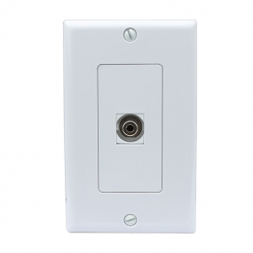 New easy installation 1 Toslink Digital Audio Port Wall Plate Decorative