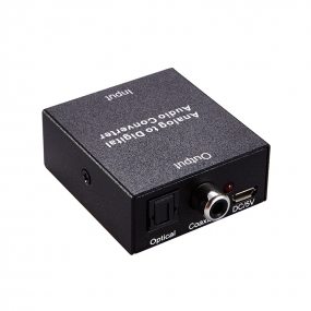 High Quality Analog to Digital Audio Converter useful for the home or office