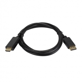 DisplayPort to HDMI Full HD 1080p 24k Gold Plated Connectors