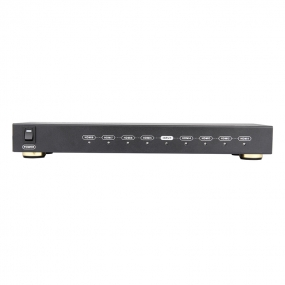 Ultra HD HDMI 1.4 Splitter 1 in 8 out Amplified Powered Splitter Support Full 4Kx2K 1080P 3D Mode