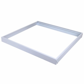 AllSmartLife 2x2FT Surface Mount Kit, Aluminum Ceiling Frame Kit for 2x2FT LED Panel Light/ Drop Ceiling Light